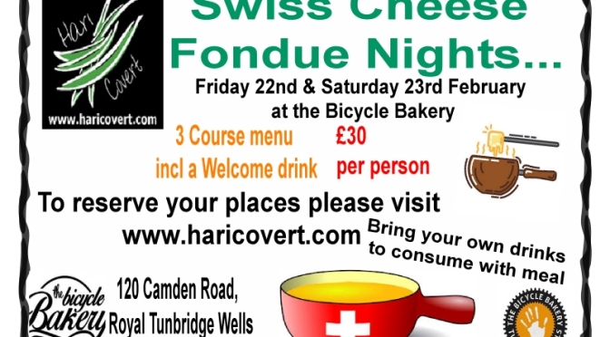 Fondue Nights at the Bicycle Bakery…